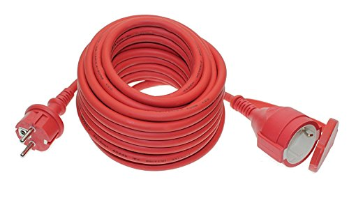 Trango 10m Cable alargador exterior IP44rojo Trango TG de 10mcr (1,70€/m)