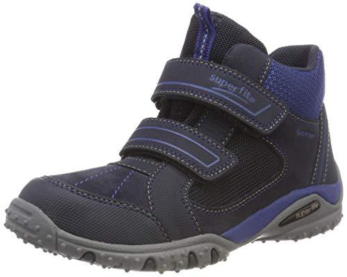 Superfit Jungen SPORT4 Hohe Sneaker, Blau (Blau/Blau 81), 33 EU