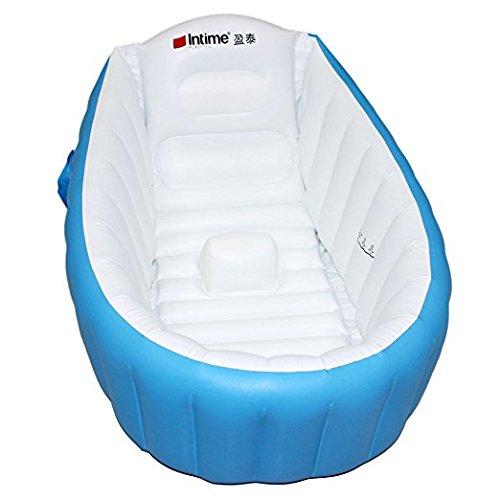 signstek-tragbare-aufblasbare-badewanne-planschbecken-schwimmbecken-fur-baby-und-kleinkinder-blau