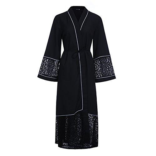 Dreamskull Muslime Muslim Abaya Dubai Kleid Muslimisch Islamisch Arab Arabisch Indien Türkisch Casual Abendkleid Abendmode Kaftan Kleidung Maxikleid A Linie V Ausschnitt Dress Damen Frauen (M, 4960) (Arabische Kleidung)