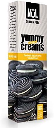 Nül Glutenfreie dunkle Doppelkekse mit Vanillecreme, 12 x 125 g