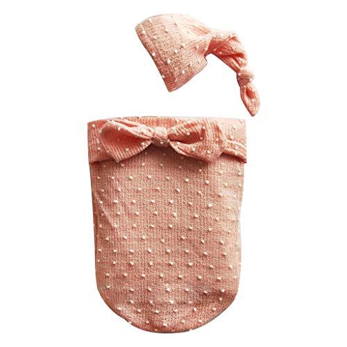 Baumwolle Mischung Anzug (A0127 Neugeborenen Baby Fotografie Requisiten Swaddle Wrap Neue fotografische Kostüme Vollmond Foto Anzug Mischung Baumwolle Schlafsack)