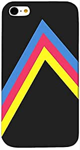 Timpax protective Armor Hard Bumper Back Case Cover. Multicolor printed on 3 Dimensional case with latest & finest graphic design art. Compatible with Apple iPhone - 5/5S Design No : TDZ-23684