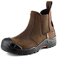 Buckler NKZ101BR Safety Dealer Boot in Brown Sizes 6-13 (10 UK)