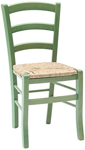 Fashion commerce 02-fc310v set di sedie, legno, verde, 42x43x88 cm, 2 unità