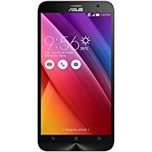 "Asus Zenfone 2 - ZE551ML - Smartphone libre Android (pantalla 5.5"" Full-HD, cámara 13 Mp, memoria interna de 32 GB, Intel Atom Z3580 Quad Core 2.3 GHz, 4 GB de RAM, dual SIM) color negro"
