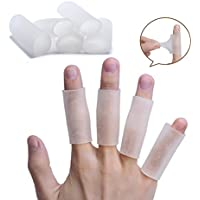 Sumifun Stretchable finger bandage for protection during sports and arthritis, Silikon Bandagen zur Fingerunterstützung preisvergleich bei billige-tabletten.eu