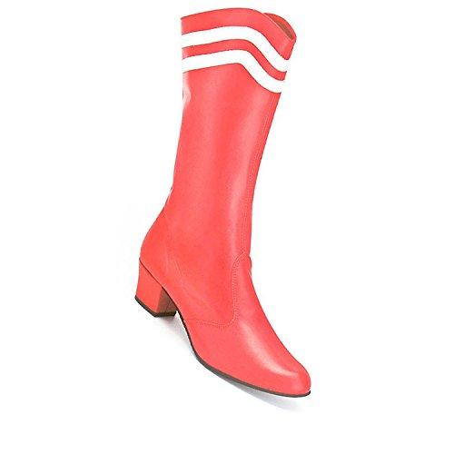 Kochmann Charakterschuh Stiefel rot 43 Tanzschuh Tanzstiefel Profi Porosohle