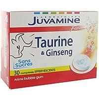JUVAMINE - JUV067036 - Stimulant Energisant Taurine Ginseng Fizz - 30 comprimés effervescents