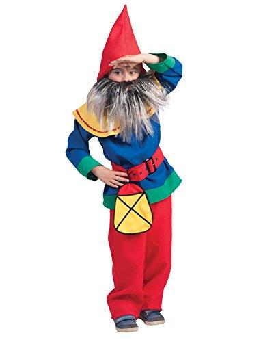 Kostüm Zwerg Gerald Kind Größe 140 Kinderkostüm Junge Zwergenkostüm Märchen Karneval Fasching bunt (Zwerge Kostüme Sieben Schneewittchen)