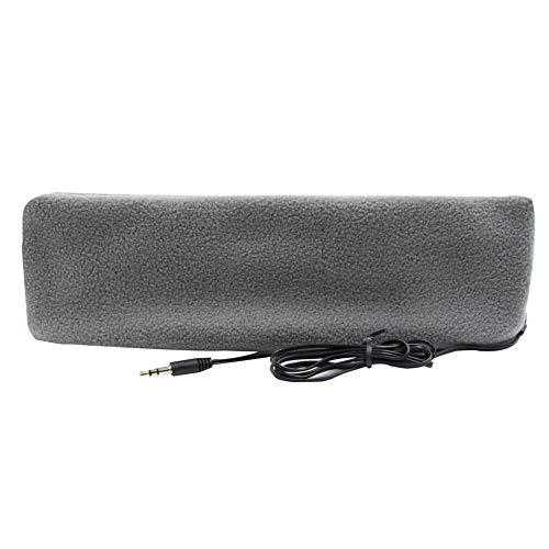 örer Stirnband Kopfhörer Ultra Dünn Kopfhörer die meisten Bequeme Kopfhörer für Schlafen Air Travel Workout Schlaflosigkeit, hellgrau ()