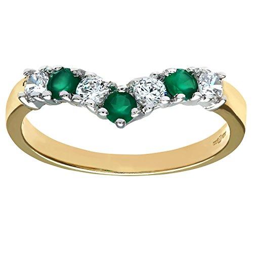 citerna-9-ct-yellow-and-white-gold-stone-set-wishbone-ring-size-t