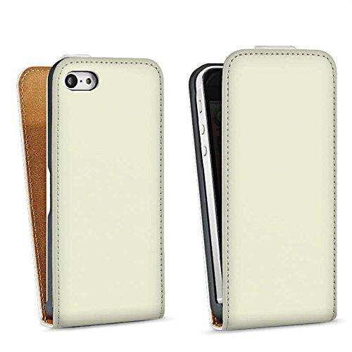Apple iPhone 4 Housse Étui Silicone Coque Protection Vert pastel Vert Vert Sac Downflip blanc