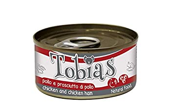 Tobias Poulet/Jambon du Poulet pour Chien 85 g - lot de 24