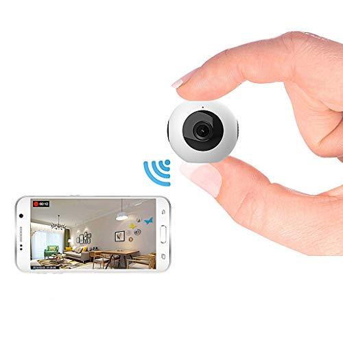 Full HD 1080P Mini cámara IP Wifi Doble lente Cámara secreta Control remoto inalámbrico Detección de movimiento Micro cámara espía Mini DVRcaracteristicas:1. Diseño pequeño y portátil, tamaño pequeño, peso ligero2. Adecuado para uso personal, Hogar, ...