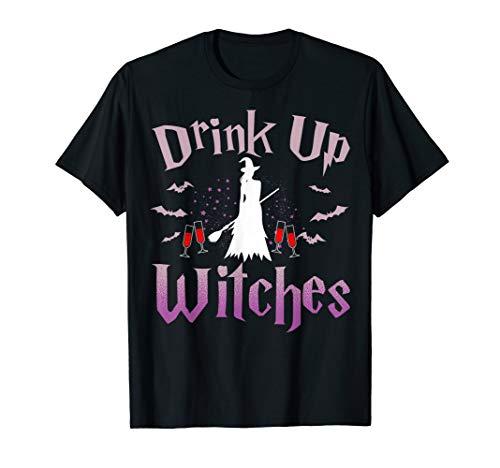 Viel Spaß beim Trinken Hexe Halloween trinken T-Shirt