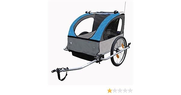 Fischer Fahrradanhanger Kinder Safety Two One Size 86384 Amazon De Sport Freizeit