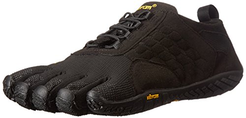 Vibram Five Fingers Trek Ascent, Scarpe Sportive Outdoor Donna, Nero (Nero), 39 EU