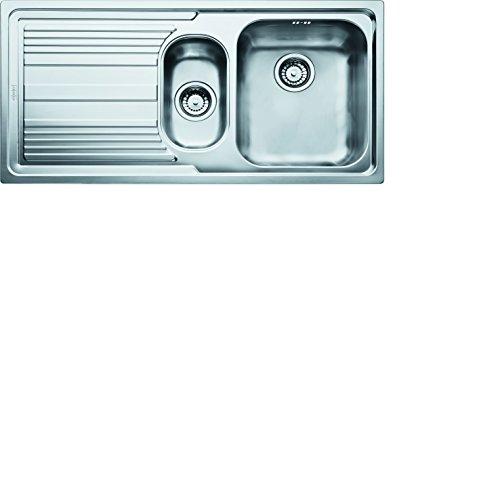 BLANCO 522951 ANDANO 180-IF-Brillo satinado de acero inoxidable Einbau von oben