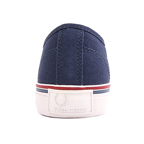 Fred Perry Ridley Canvas Carbon Blue Blue Blue