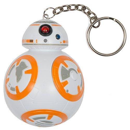 Star Wars 3D-Schlüsselanhänger mit Ton, Figur BB-8 -