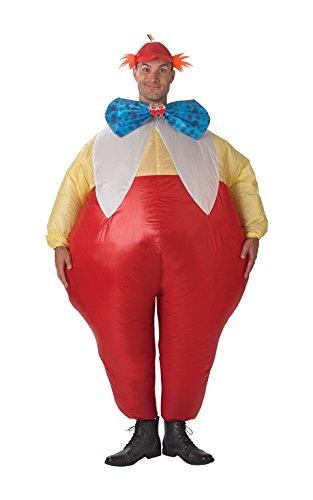 Tweedle Tweedle Dee Dum Kostüm (Rubie 's Offizielles Figuren tweedledum Dee und Dum, Erwachsene Kostüm–aufblasbar)