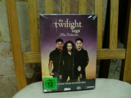 die Twilight saga - Film Collection (Filme Twilight Dvd)