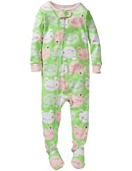 Carter's Baby Girls' 1 Piece Cotton Printed Footie (Baby) - Frogs - 24 Months Color: Frogs Size: 24 Months (Baby/Babe/Infant - Little ones)