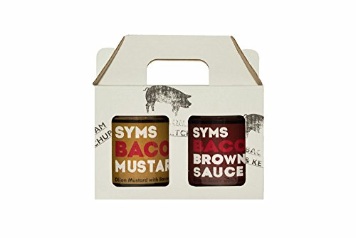 New Syms Pantry Mustard and Brown Sauce - Double Pack