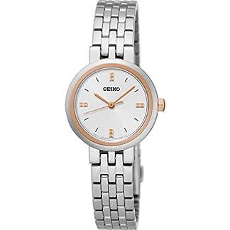 Seiko Señoras reloj de pulsera de acero inoxidable srz458p1