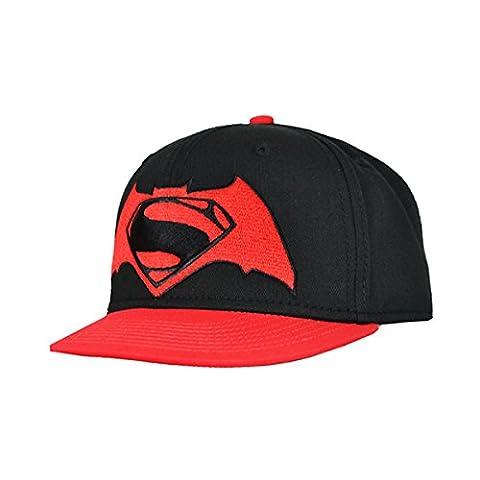 BATMAN V SUPERMAN CONTRAST LOGO CAPS