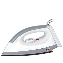 Volmax Tycon Electric Dry Iron White Colour