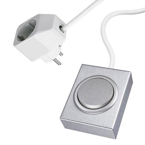 Aufbauschalter Victoria aus Edelstahl / Schalter / Edelstahlschalter / Kippschalter / LED Schalter - Victoria 12 Licht