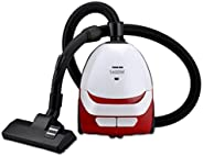 Nikai Vacuum Cleaner,1400 W,NVC2302A1, Multi Color RED AND WHILE