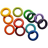 Nuun Kids Design 15.0446 - Anillas de madera, arco iris