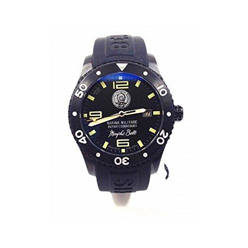 new product b910f eb1d7 Marina Militare skq42pbk07.c – Watch, Rubber Strap Black