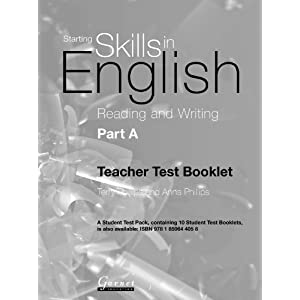 Reading and Writing: Pt. A (Starting Skills in Eng