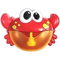 ARTIFUN Máquina de Burbujas, Soplador de Pompas de Jabón Cangrejo,Creador de Burbujas con