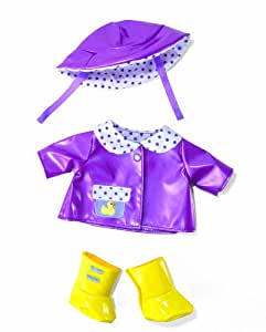 Manhattan Toys Baby Stella Rainy Day Outfit