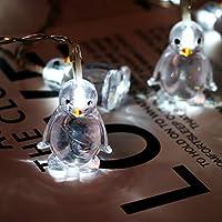 String Lights LEEDY Clearance Sale! Penguin Animal Shape String Lights 10 LED 1.65M Atmosphere Decoration