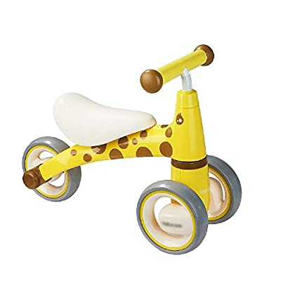 Jiamuxiangsi Bicycle Baby Balance Car Without Pedals Baby Three-wheeled Skiing Walker Aged Gift Slippery Yo Car Light Portable Belt Baby Balance Bicycle Toy Boy Girl First Bicycle Birthday Gift Child