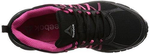 Reebok Bd5453, Scarpe da Trail Running Donna Nero (Black/Black/Pink Craze/Manic Cherry/Pewt)