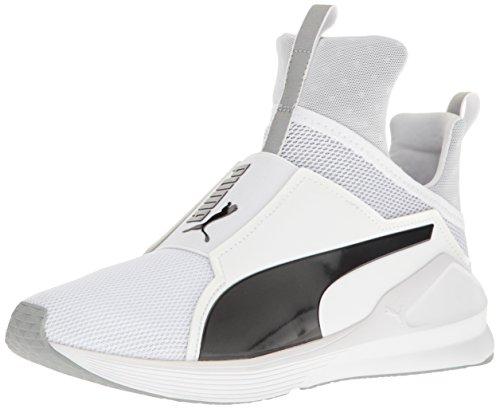 Puma Damen Fierce Core Hallenschuhe, Schwarz Puma White-puma Black