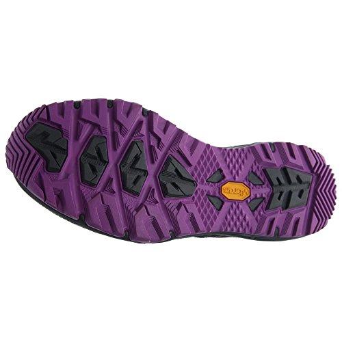 The North Face W Ultra Fastpack Ii Mid Gtx, Chaussures de Randonnée Femme gris - Gris (Zinc Grey / Sweet Violet)