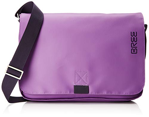 BREE Collection Unisex-Erwachsene Punch 62, Pat. Purple, Shoulder Bag S19 Schultertasche, Violett (Pat.Purple), 8x24x40 cm