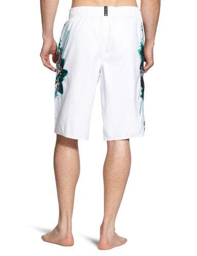O'neill PM Geo AOP Boardshort homme Blanc - Blanc/motif à carreaux