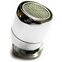 Fuerte latón giratorio ajustable boquilla del grifo aireador 24mm macho m24