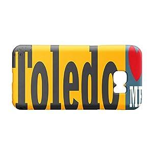 ciudad de toledo: Funda Protectora Carcasa para Samsung S7 Viajes Ciudad Toledo