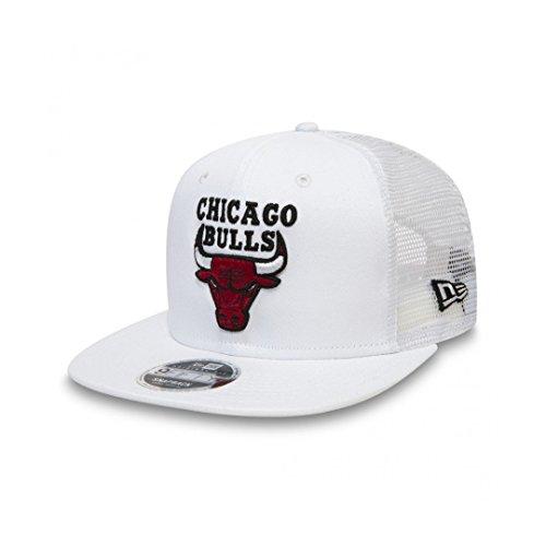 Gorra New Era – 9Fifty Nba Chicago Bulls Mesh blanco talla  S M 9abdac2ba7c