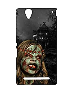 Mobifry Back case cover for Sony Xperia T2 Ultra Mobile ( Printed design)